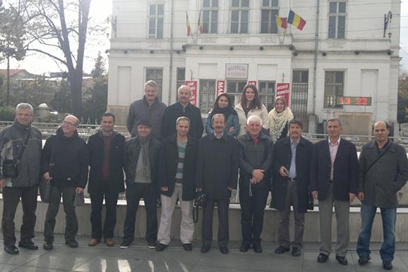 Öğretmenimiz Romanya'da Hayat Boyu Öğrenme Projesine katıldı