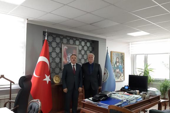Kemal Varın NUMANOĞLU'a Ziyaret