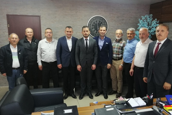 Düzce Belediye Başkanı Yardımcısı Celal Kasapoğlu Ziyareti